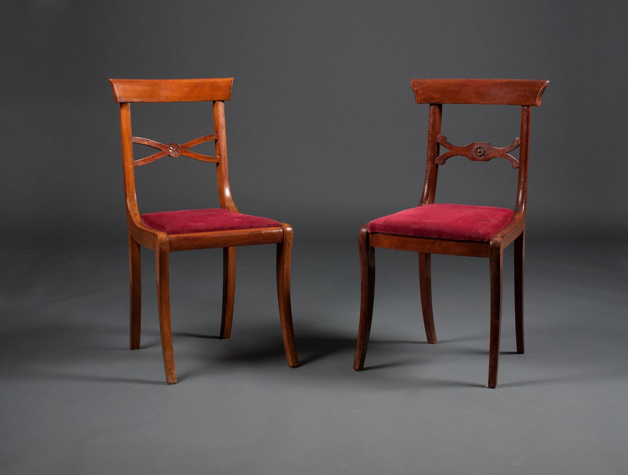 28 chaises anglaises en acajou soubrier louer si ges chaise xixe. Black Bedroom Furniture Sets. Home Design Ideas