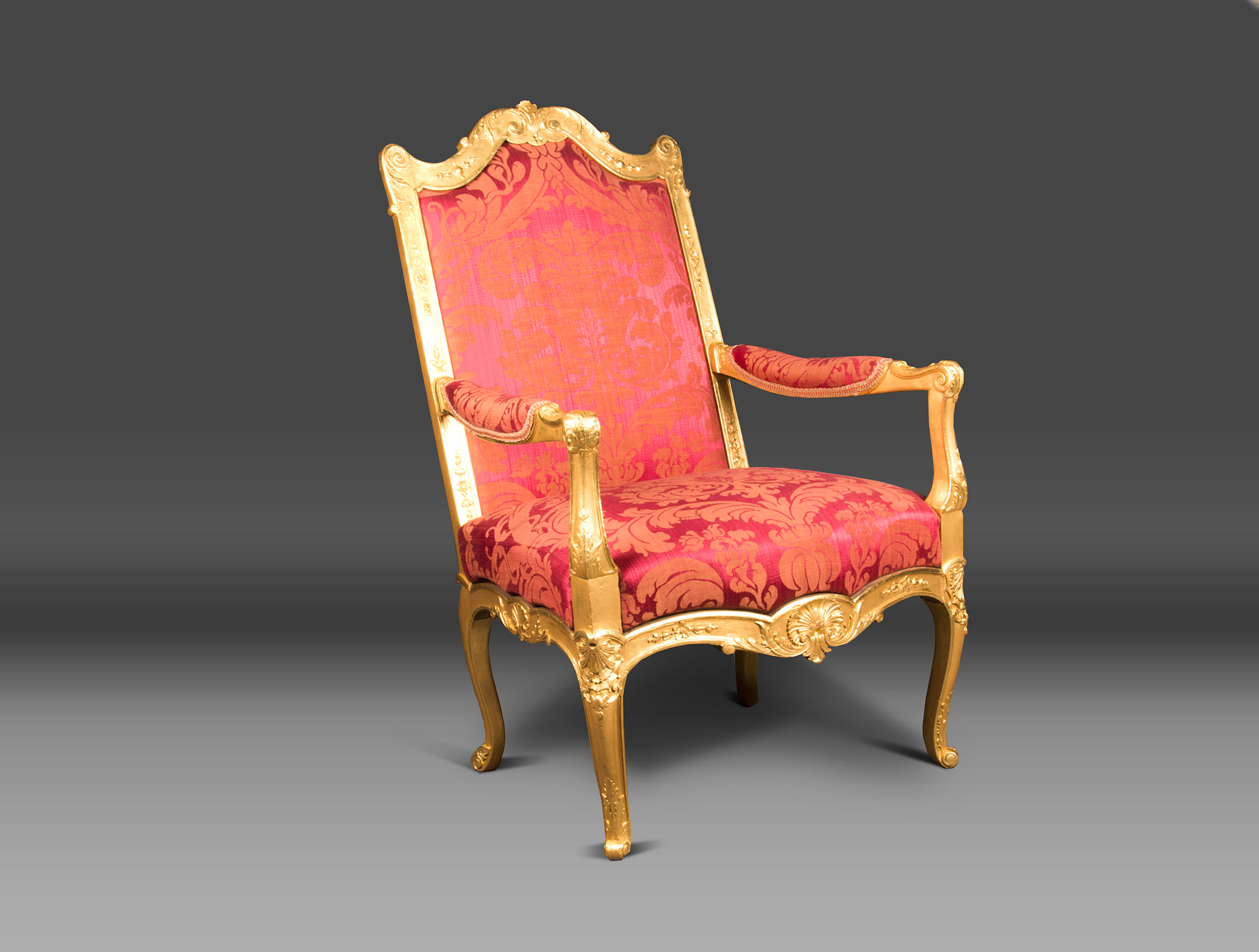 Regency Red Armchair Soubrier Rent Seats Armchair Xviiith
