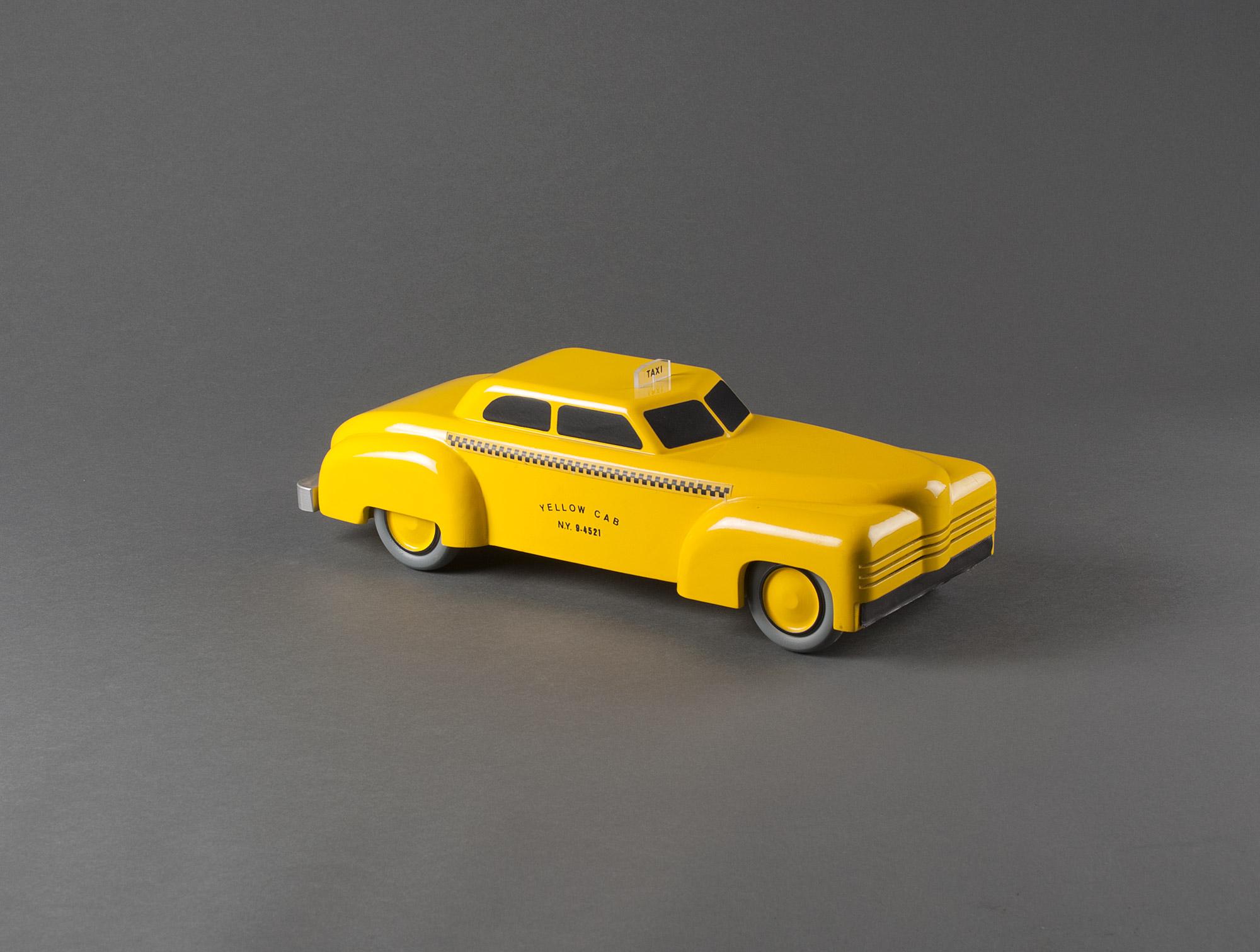 Vilac Jouet Objets Soubrier Louer Déco Xxe Américain Taxi 5j4A3RL