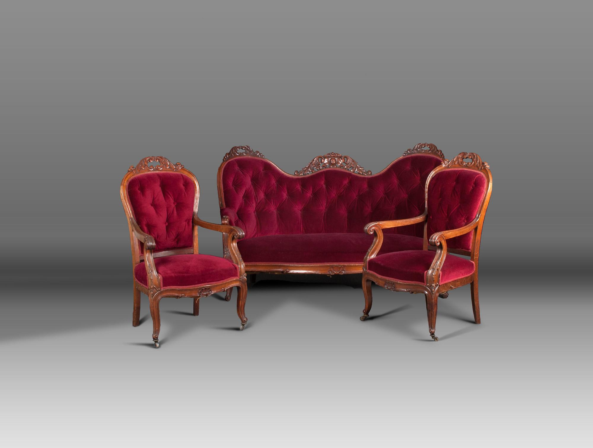 paire de fauteuils napolon iii - Fauteuil Napoleon 3