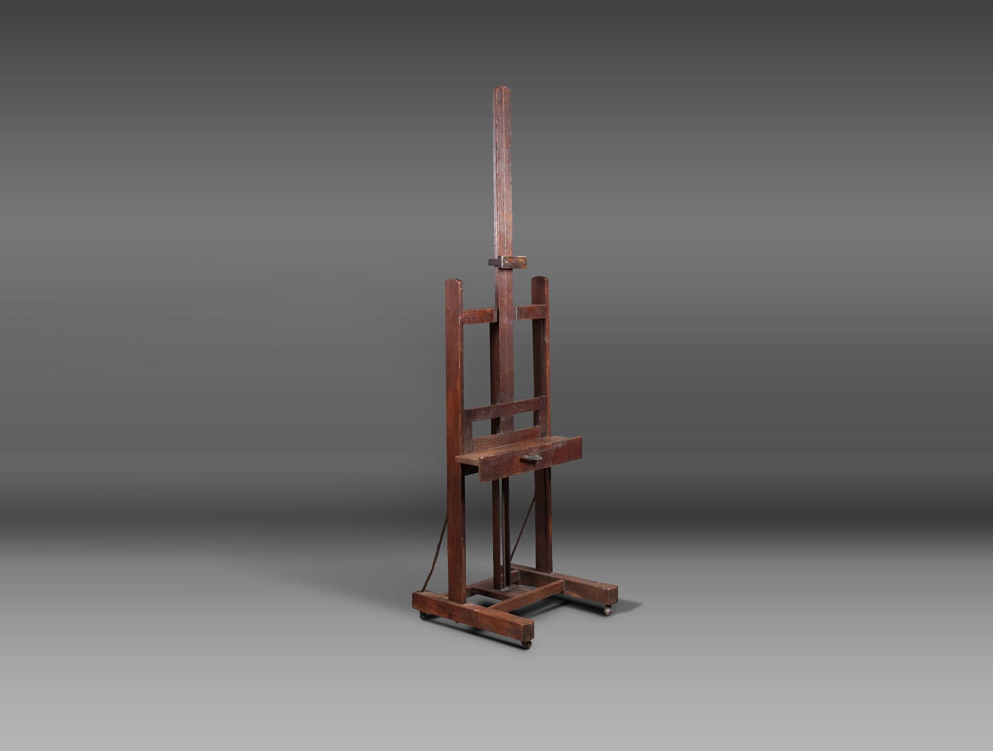 chevalet d 39 atelier soubrier louer mobiliers chevalet xxe. Black Bedroom Furniture Sets. Home Design Ideas