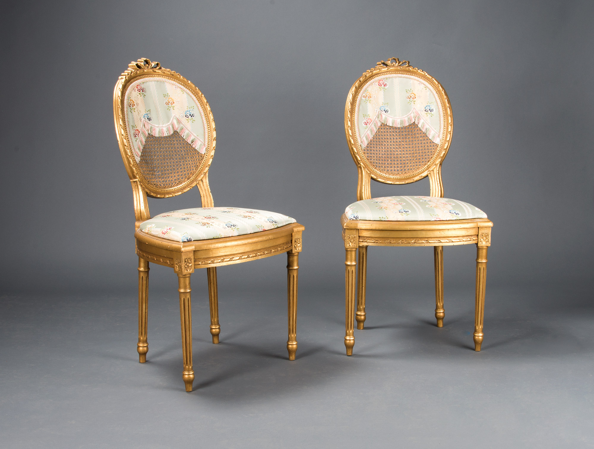 Pair of Louis XVI style chairs Soubrier - Rent Seats Chair XVIIIth