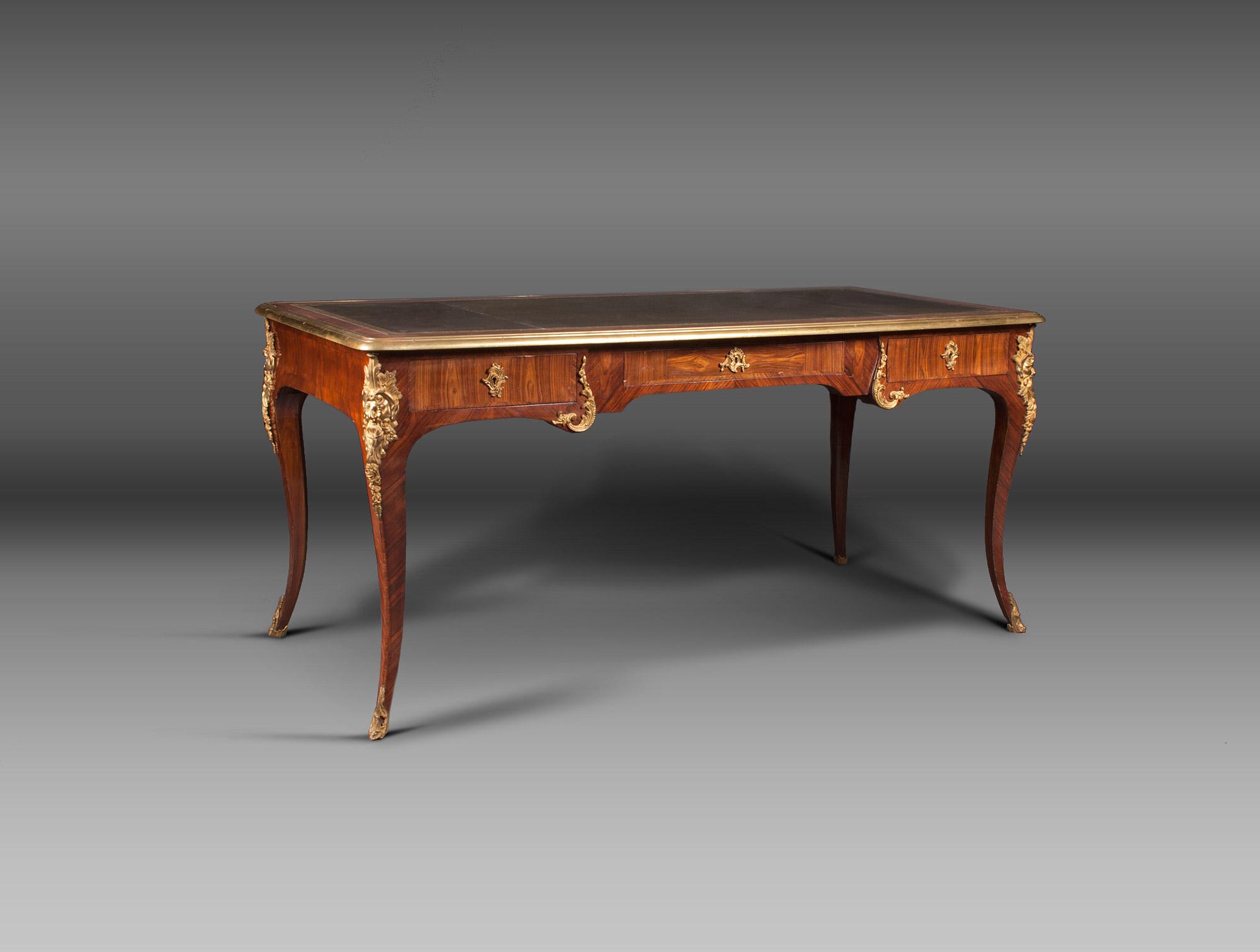 Bureau style louis xv soubrier louer tables bureaux - Bureau style louis xv ...
