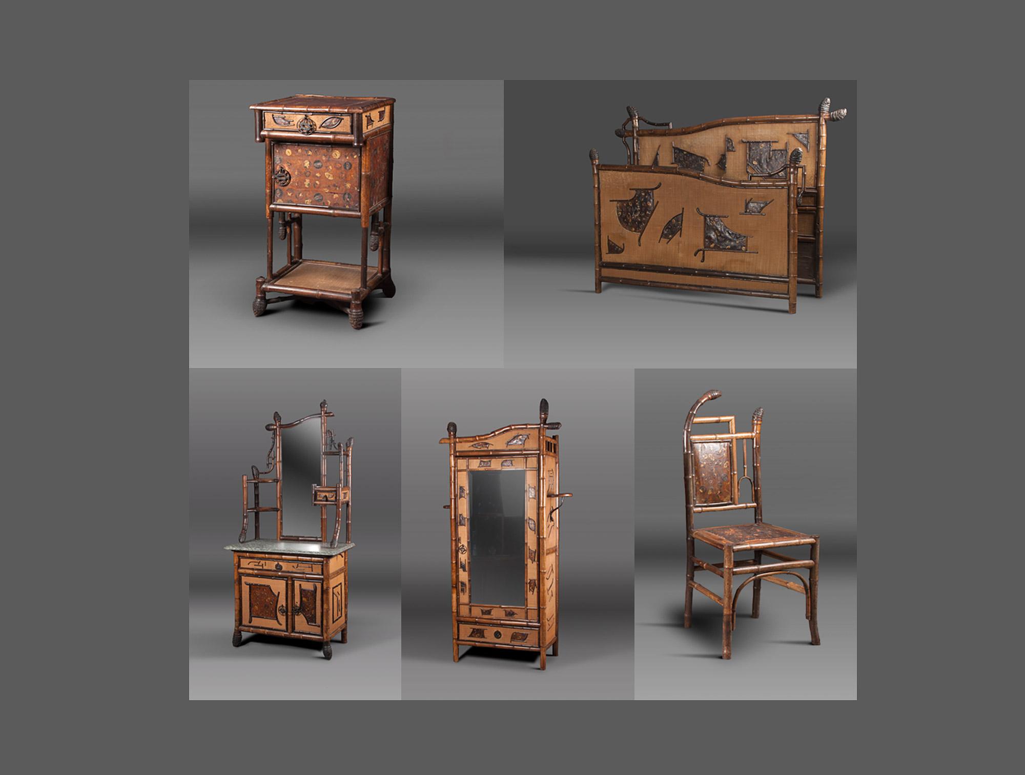 chambre en bambou soubrier louer mobiliers chambre xxe