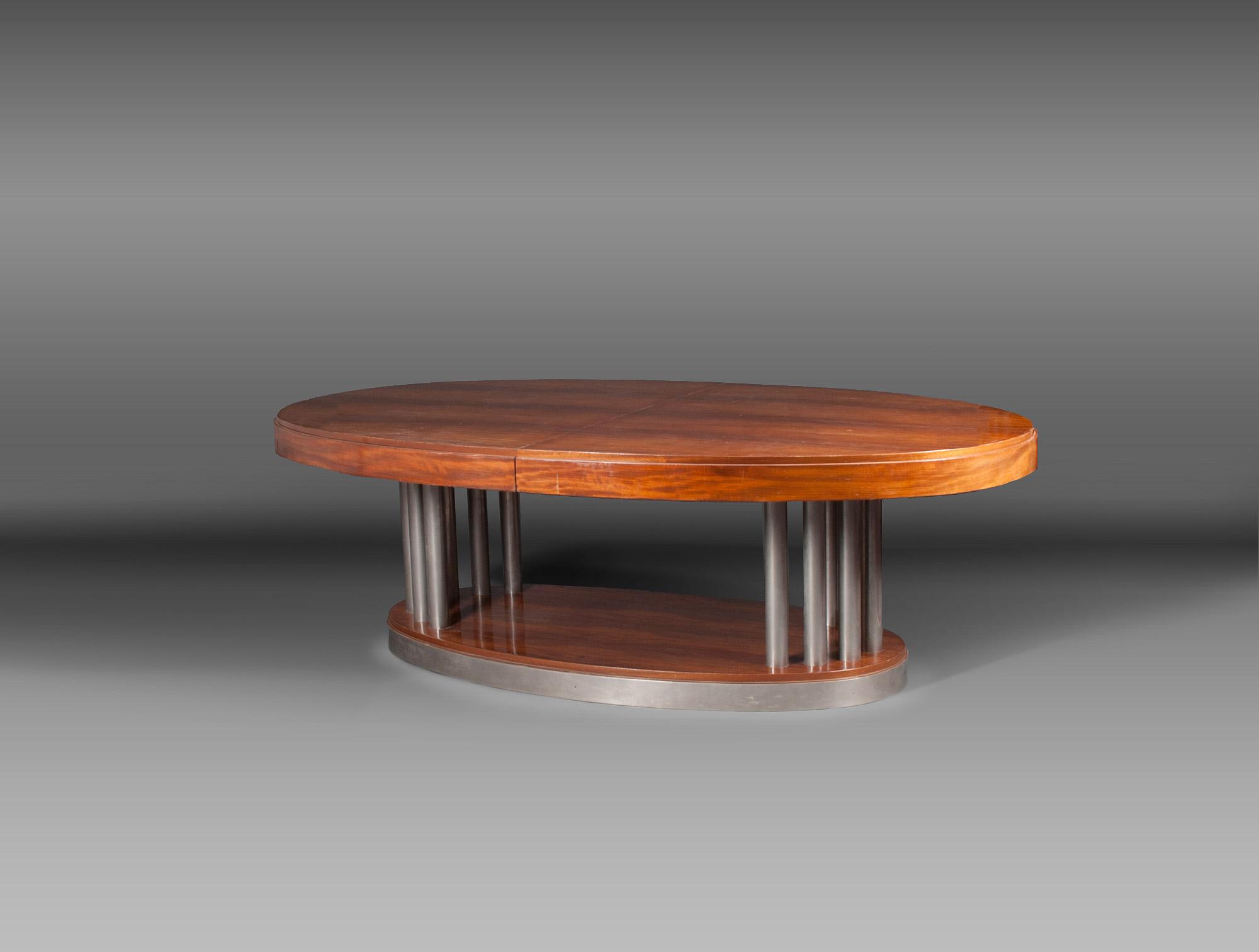 Grande Table Ovale Soubrier Soubrier Louer Tables Bureaux Table Art D Co