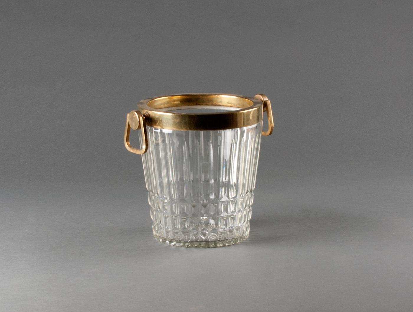 seau champagne en cristal taill soubrier louer accessoires verrerie xxe. Black Bedroom Furniture Sets. Home Design Ideas