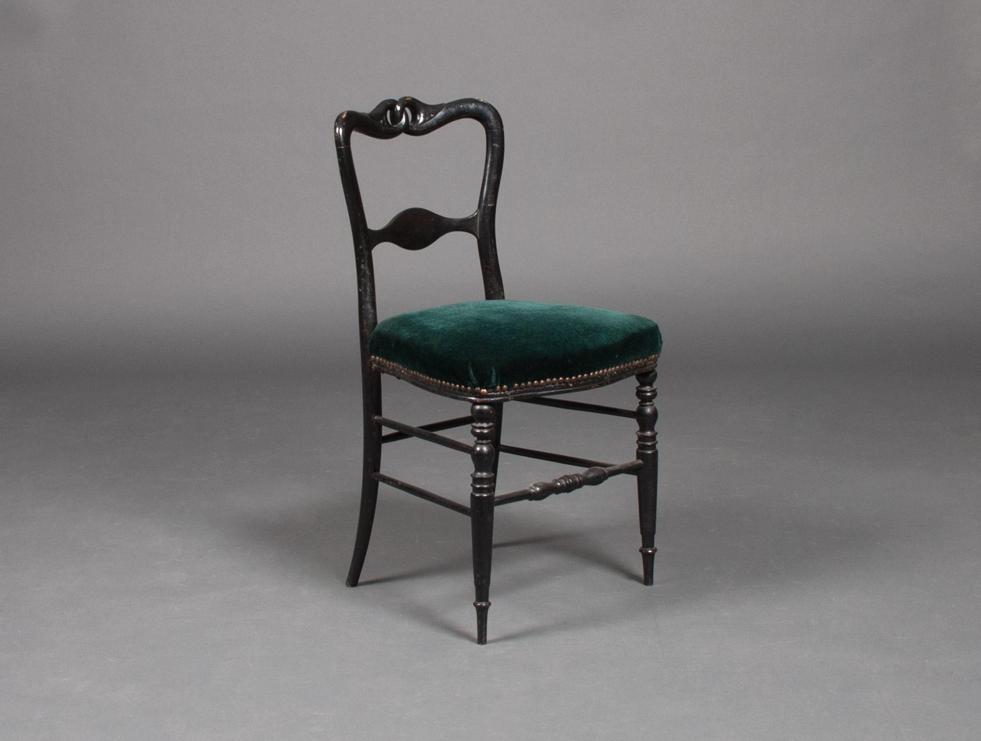 Petite Chaise Bois Noir