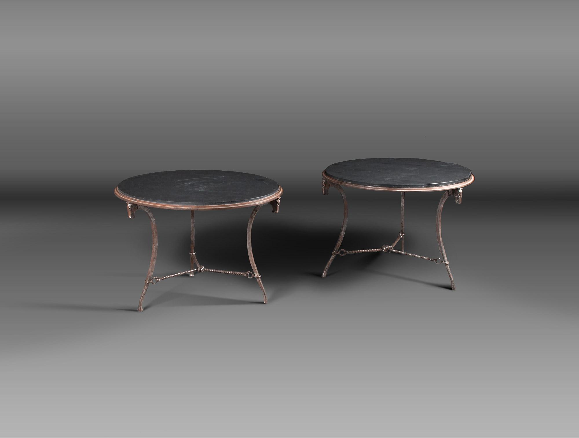 Fantastic Pedestal Wrought Iron And Slate Soubrier Rent Tables Desk Beatyapartments Chair Design Images Beatyapartmentscom