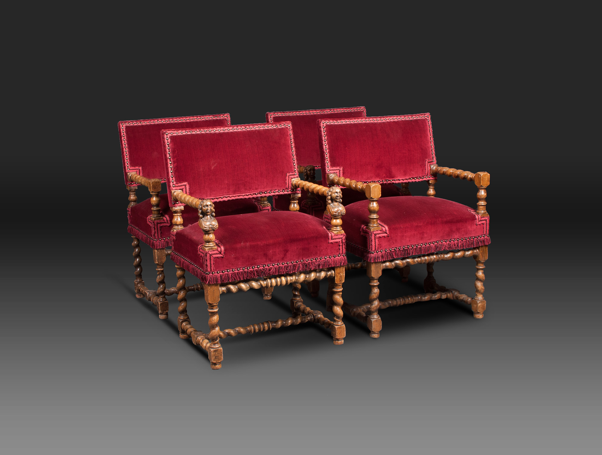 Beautiful fauteuils louis xiii contemporary joshkrajcik for Sieges rosieres