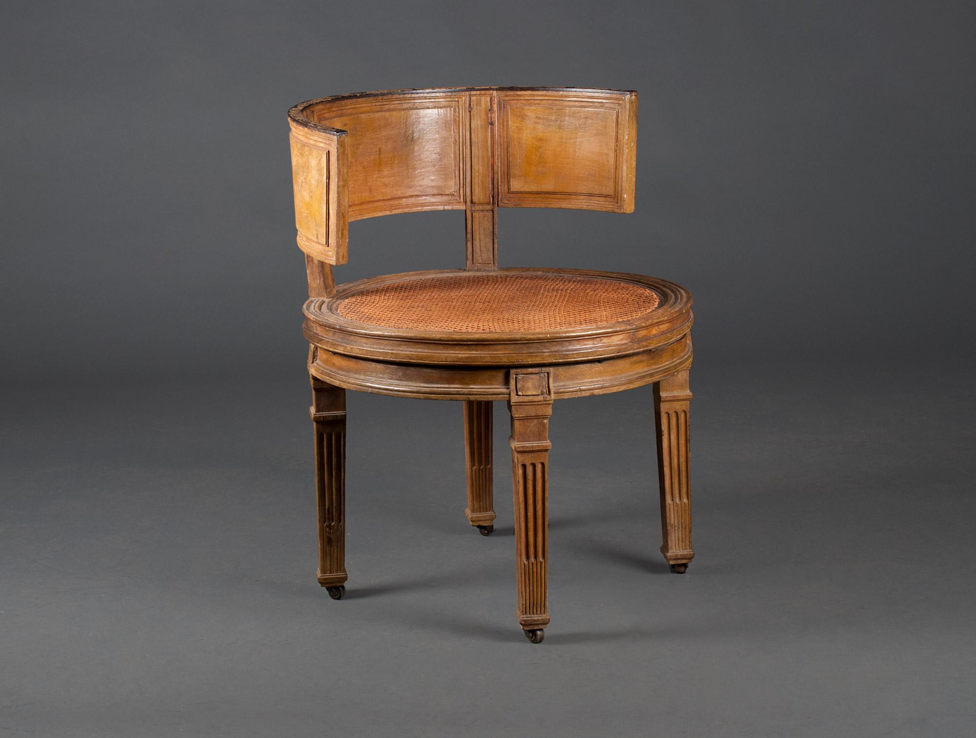fauteuil de bureau louis xvi soubrier louer si ges. Black Bedroom Furniture Sets. Home Design Ideas