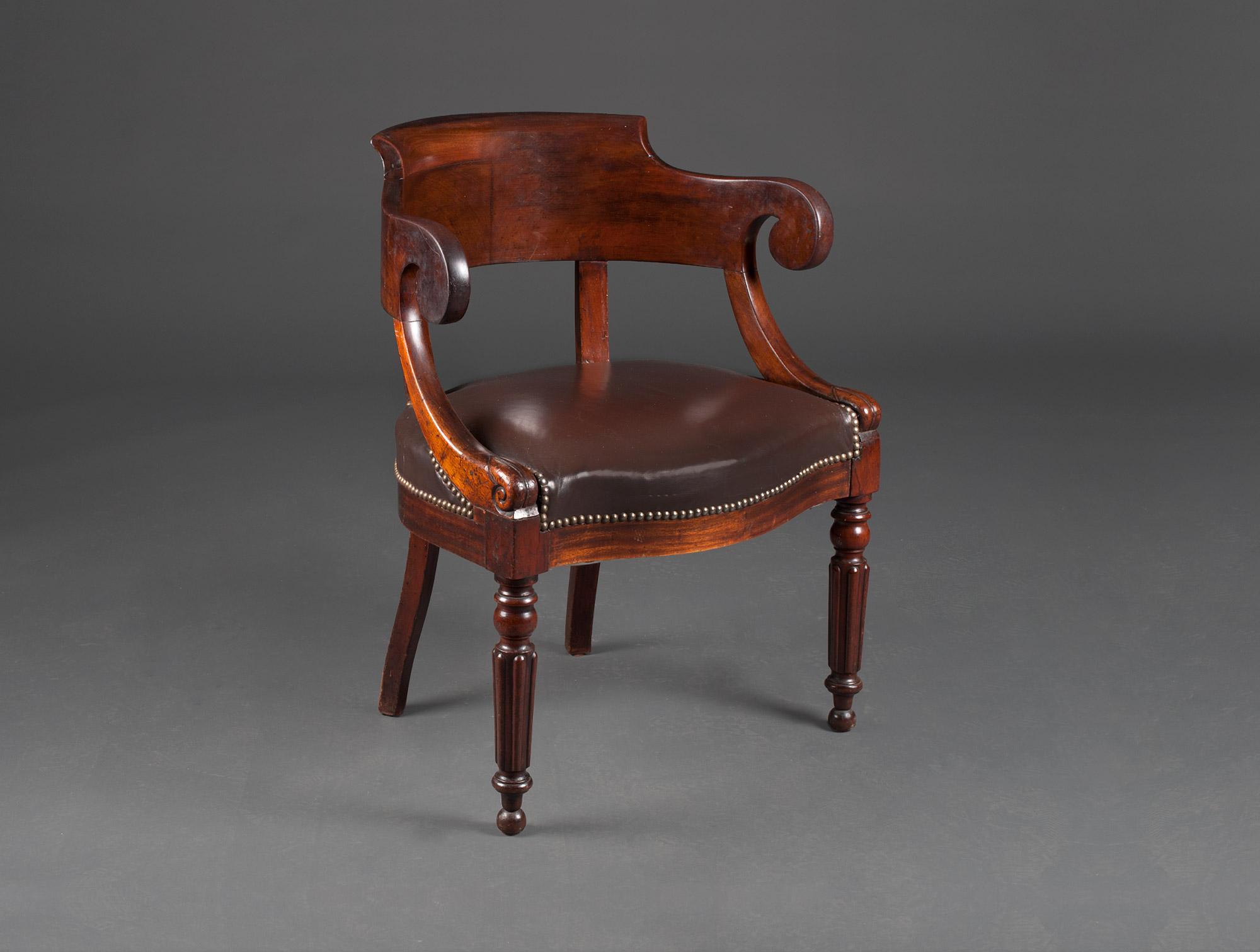 Fauteuil de bureau wavre chaise tolix
