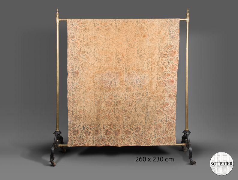 dessus de lit indien soubrier louer tissus dessus de lit xixe. Black Bedroom Furniture Sets. Home Design Ideas