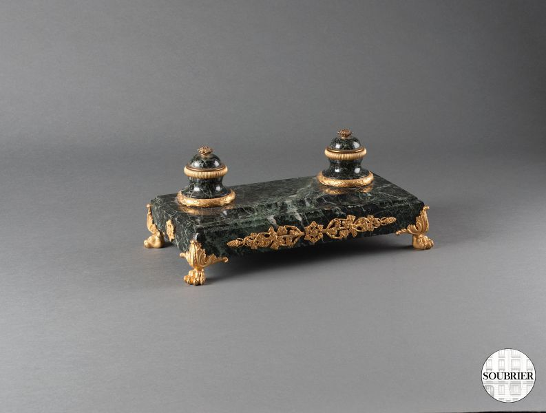 Empire style inkstand