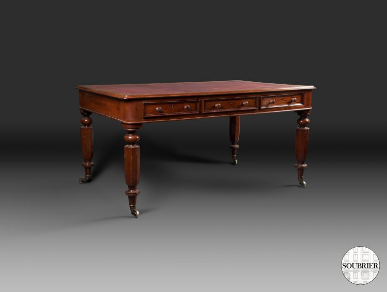 mahogany table desk