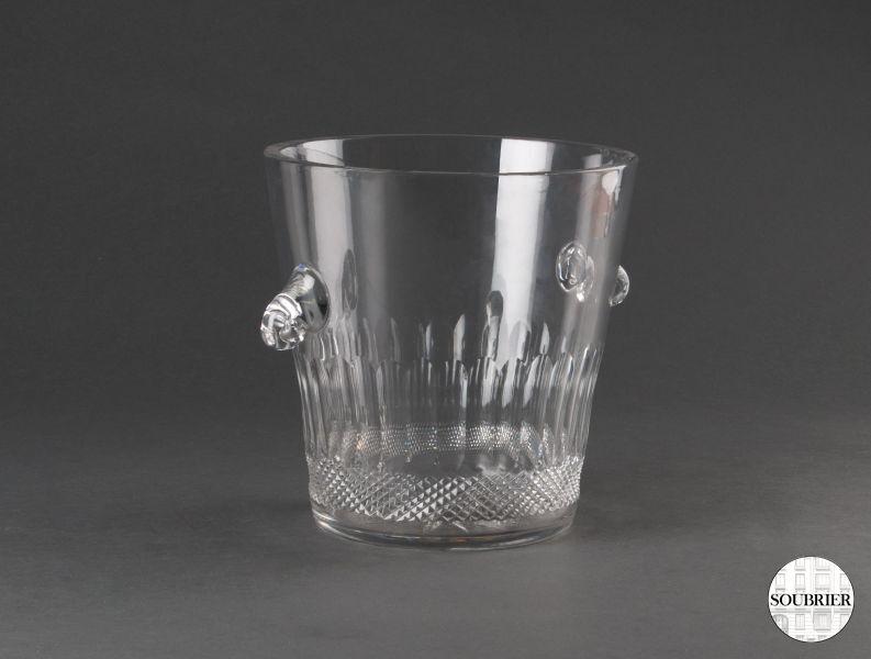 seau champagne en cristal soubrier louer accessoires verrerie contemporain. Black Bedroom Furniture Sets. Home Design Ideas