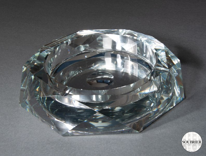 Crystal ashtray
