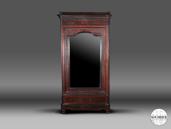 armoire glace en thuya soubrier louer rangements armoire napol on iii. Black Bedroom Furniture Sets. Home Design Ideas
