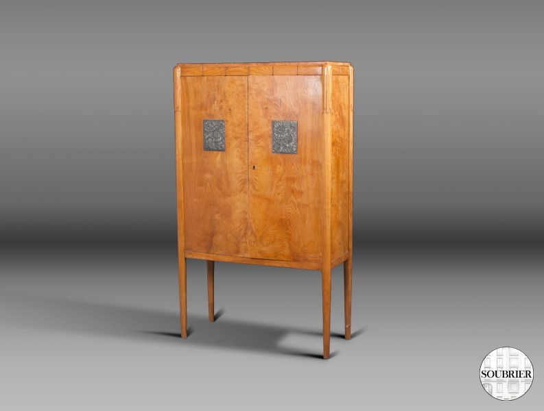 Small Art Deco cabinet by Jallot
