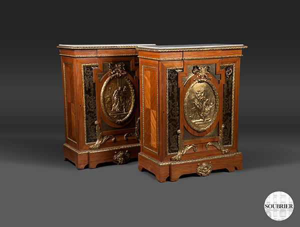 meubles d 39 appui style louis xvi soubrier louer rangements buffet xviiie. Black Bedroom Furniture Sets. Home Design Ideas
