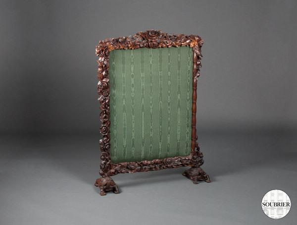 pare feu vert soubrier louer accessoires acc de chemin e napol on iii. Black Bedroom Furniture Sets. Home Design Ideas