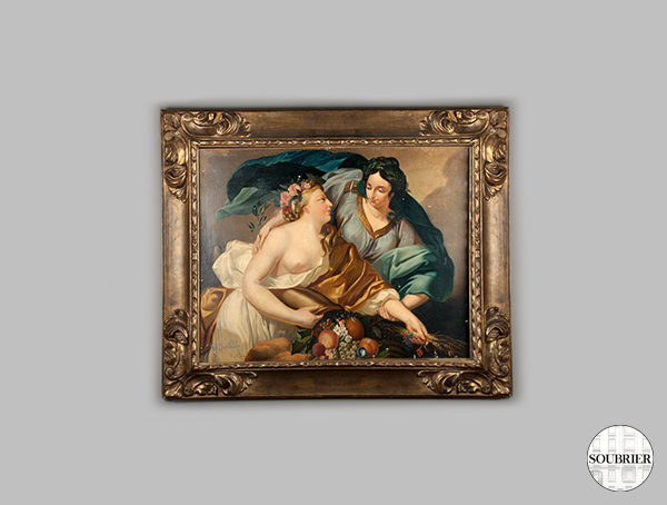 Vigee Lebrun painting after