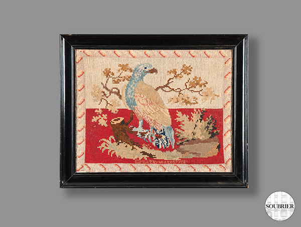 Tapestry of an eagle