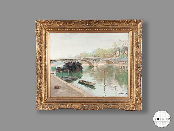 Oil from the Seine
